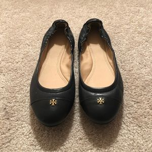 Tory Burch Leather Ballet Flat